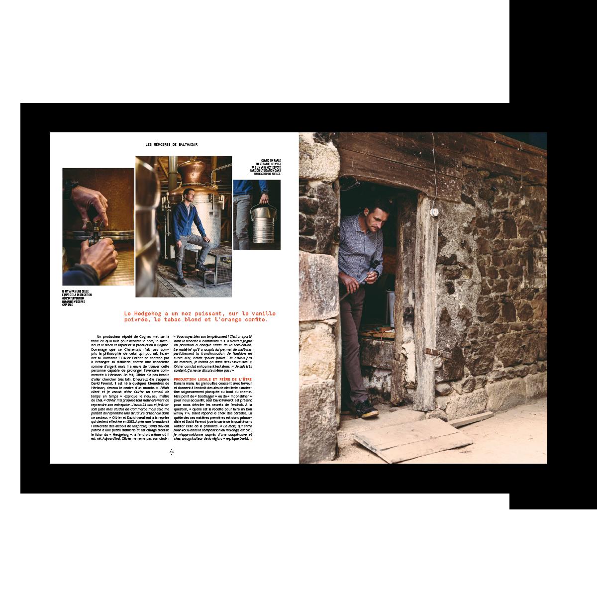 Magazine 001 auvernha : pages intérieures